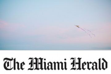 The Miami Herald on a photo of a kite in the sky