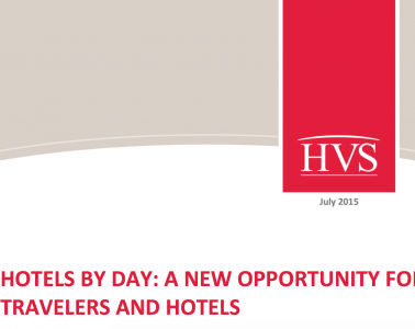 Title page of Hotels By Day info article