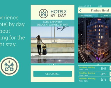 Exhibit of Hotels By Day app