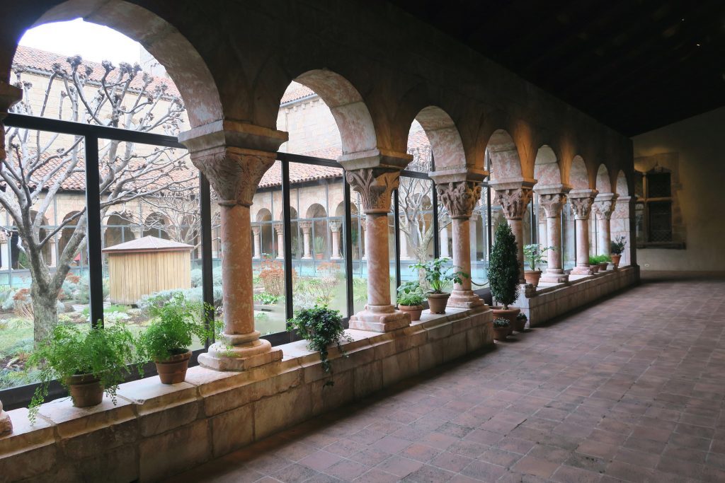 The Cloisters; part castle, part art collection within The Met in Manhattan, NYC